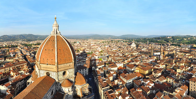Cattedrale di Santa Maria del Fiore, or the Florence Cathedral.